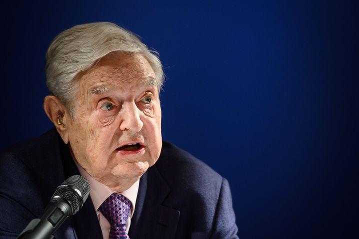 Investor George Soros in Davos