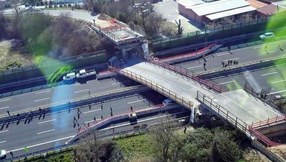 Herabestürzte Brücke: Das Unglück bei Ancona