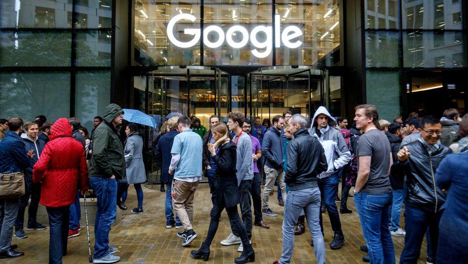 Google-Büros in London (Archiv)