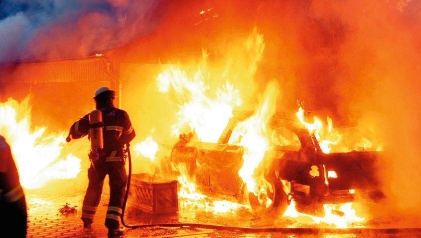 Brennendes Auto in Hamburg: »Ich hasse diesen Staat, ich scheiß auf die Gesellschaft«