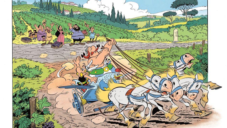 """Asterix in Italien"""