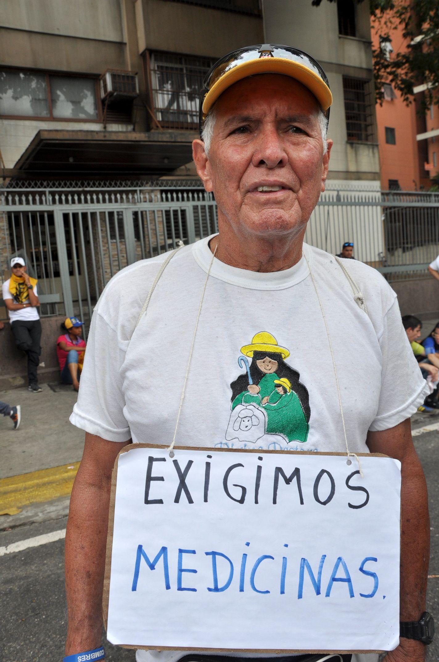 Venezuela/ Demo/ Caracas