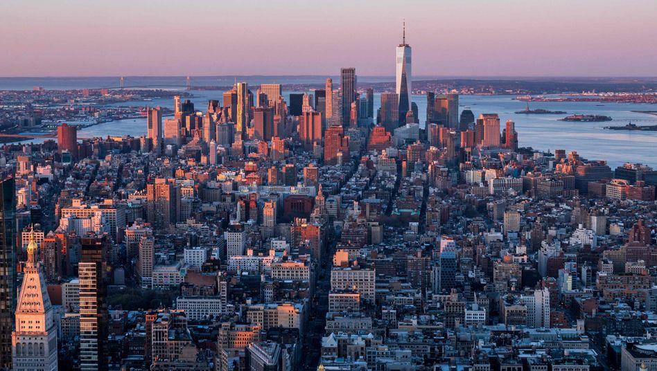 Das Ausbleiben von Gästen aus dem In- und Ausland während der Corona-Pandemie hat New York hart getroffen