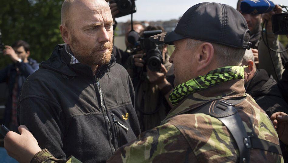 OSZE-Beobachter: Geiseln in der Ukraine freigelassen