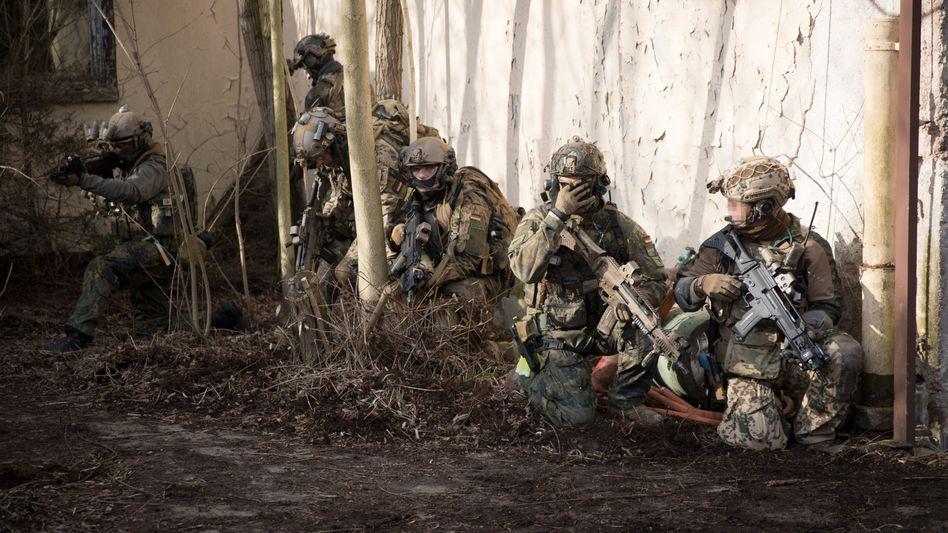 Bundeswehr-Eliteeinheit KSK (Symbolbild)