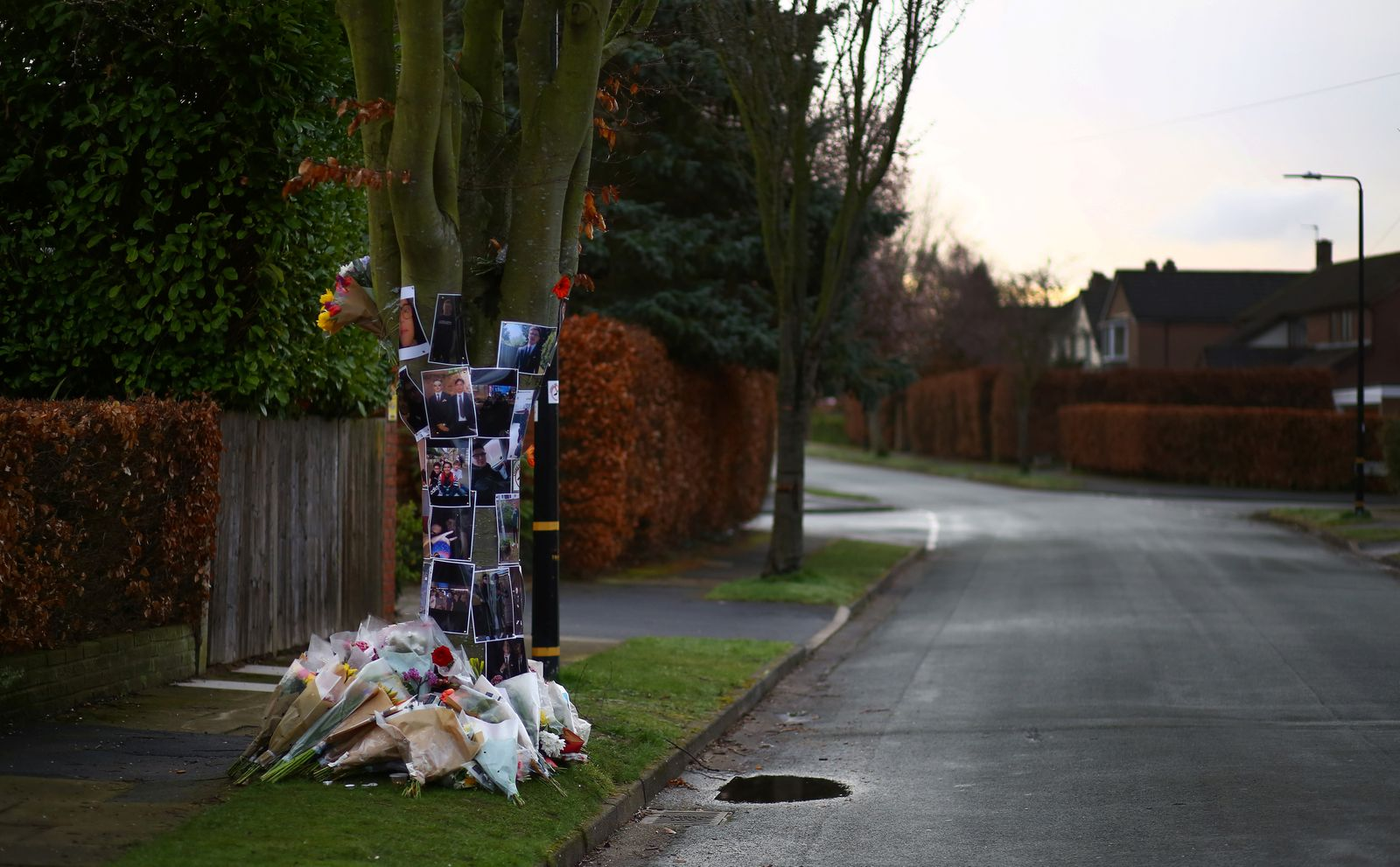 The Wider Image: Makeshift shrines honour victims of British knife crime