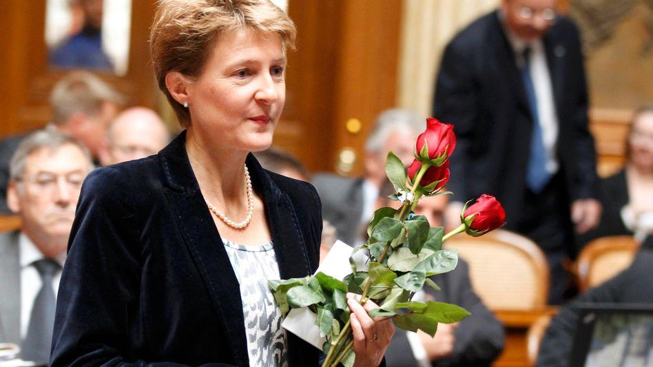 Schweizerische Justizministerin Sommaruga: Die Quote kommt