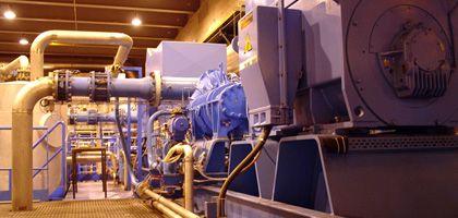 Kompressoren zur Kühlung des LHC: Minus 271 Grad für Supraleiter