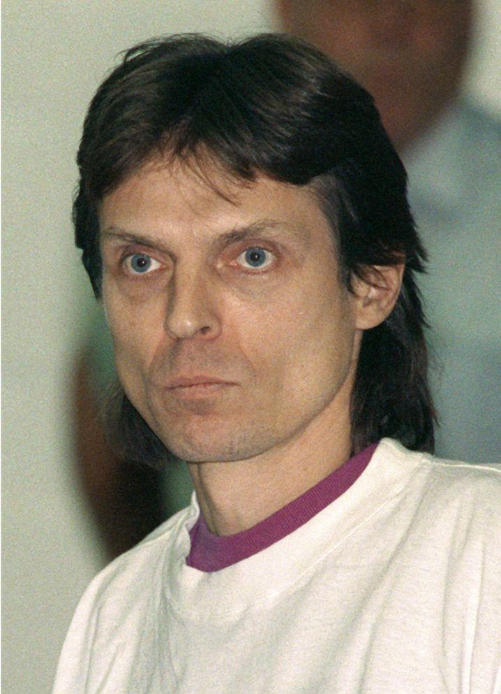 Christian Klar: Das Bild wurde 1992 beim Prozess vor dem Oberlandesgericht Stuttgart aufgenommen