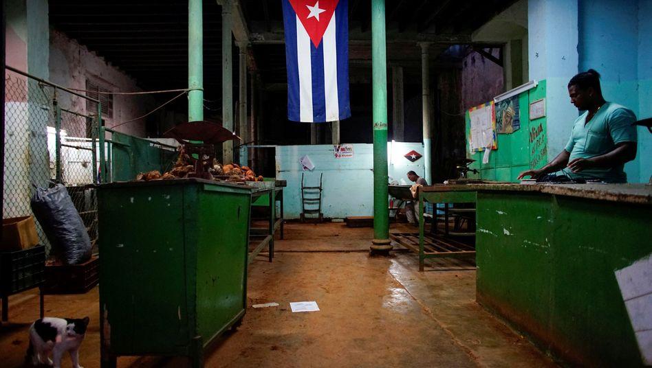 Laden in der kubanischen Hauptstadt Havanna