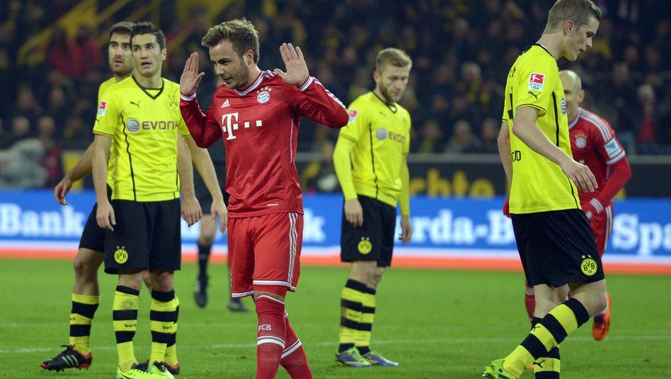 Nationalspieler Götze: Kein Jubel in Dortmund