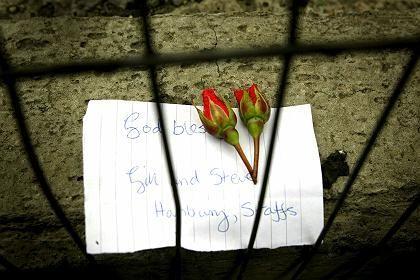 Trauer um die Opfer: Blumen vor dem U-Bahnhof King's Cross
