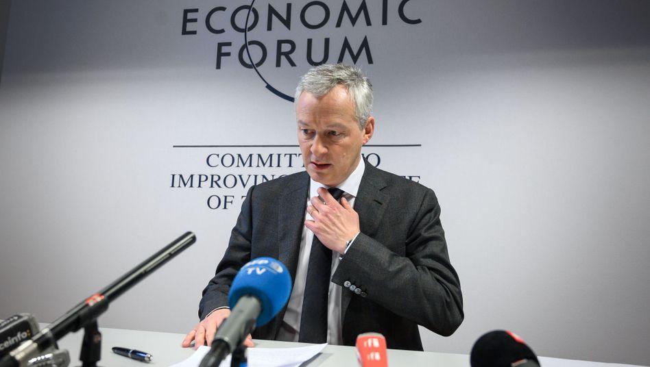 Finanzminister Bruno Le Maire