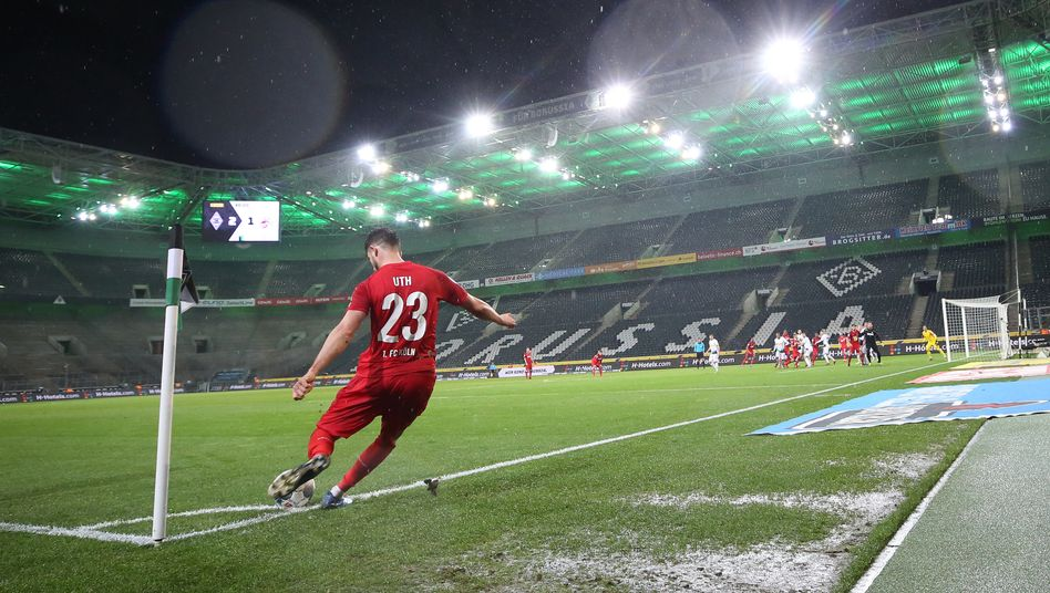 Ab Mitte September gibts wieder Bundesligafußball - und er wird wohl erst einmal so aussehen