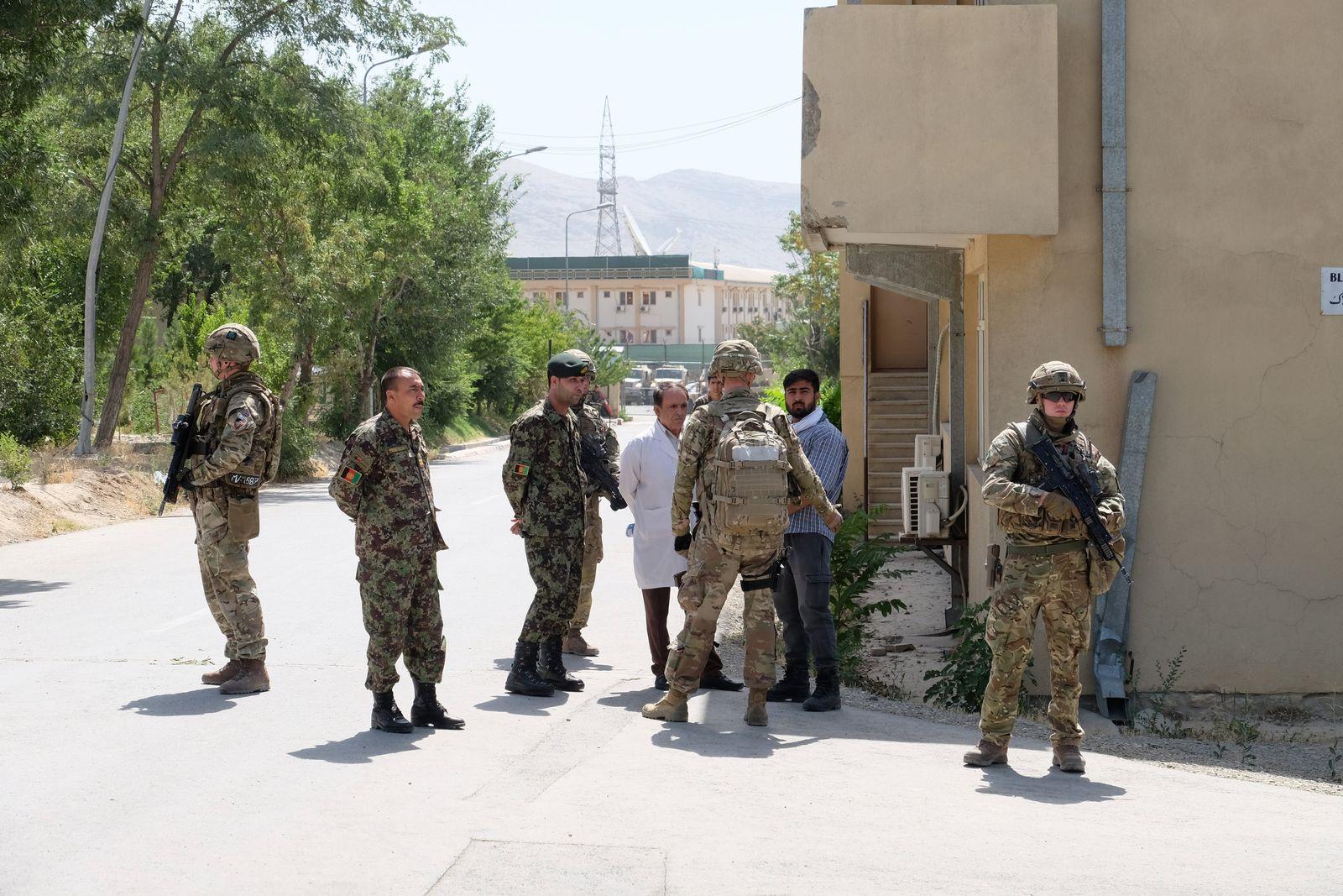 Afghanistan/Britische Soldaten