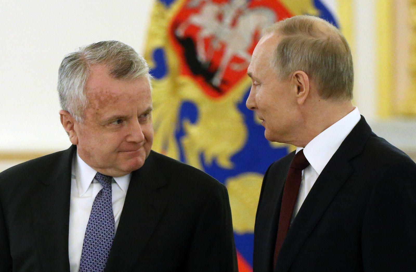 Russian President Vladimir Putin Receives Foreign Ambassadors At The Kremlin