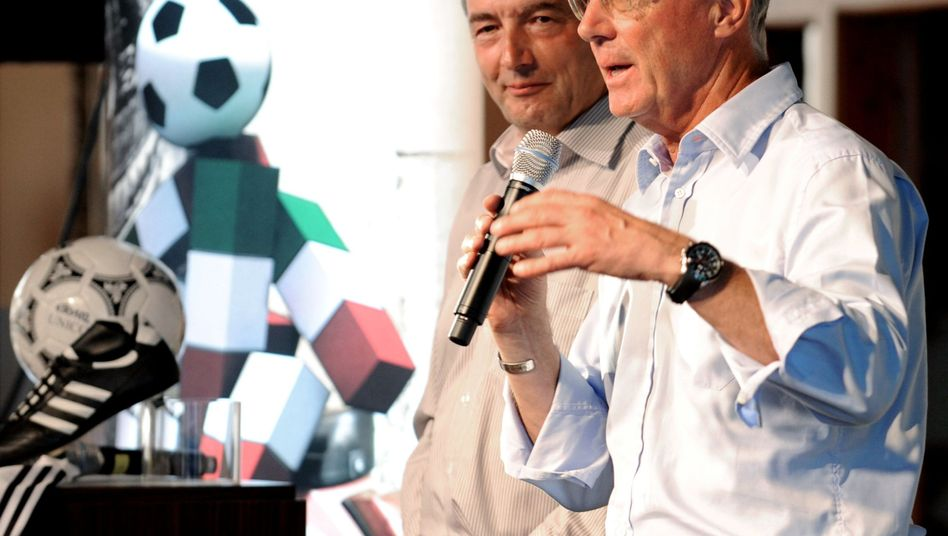 Wolfgang Niersbach and Franz Beckenbauer led Germany's effort to land the 2006 World Cup.