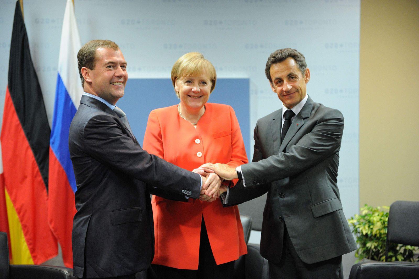 Merkel G8