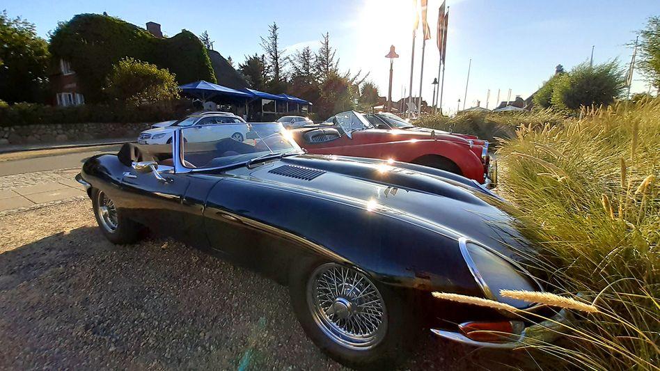 Jaguar E-Type auf Sylt