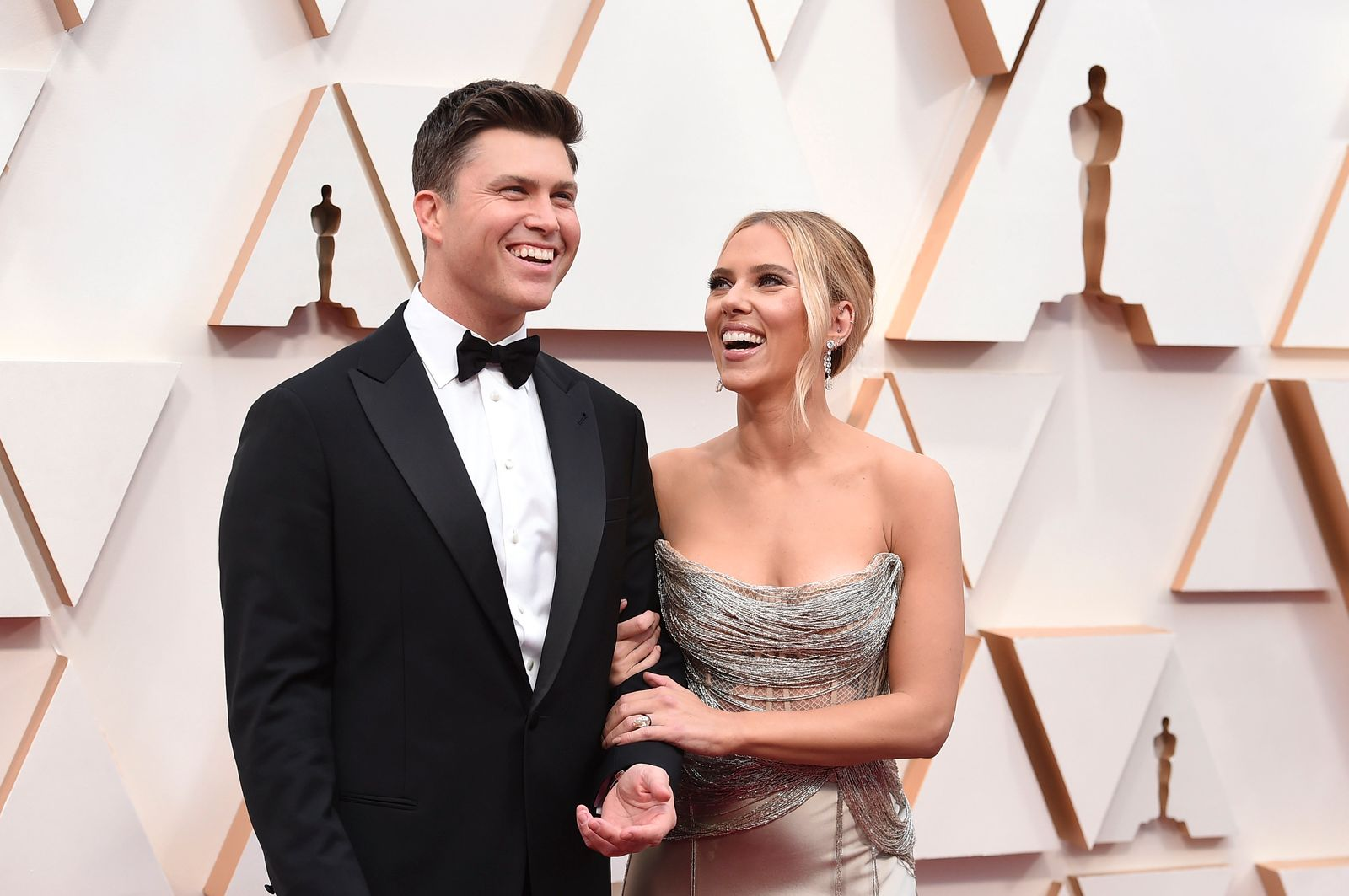 Colin Jost, Scarlett Johansson
