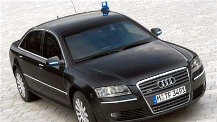 Audi A8 Security: Gepanzerte Luxuslimousine