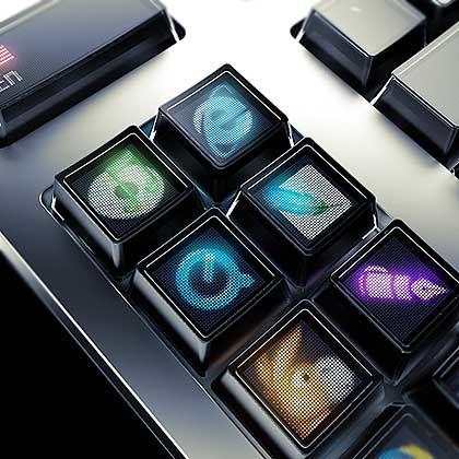 Tastatur-Idee aus Moskau: Es leuchtet bunt unter den Fingern