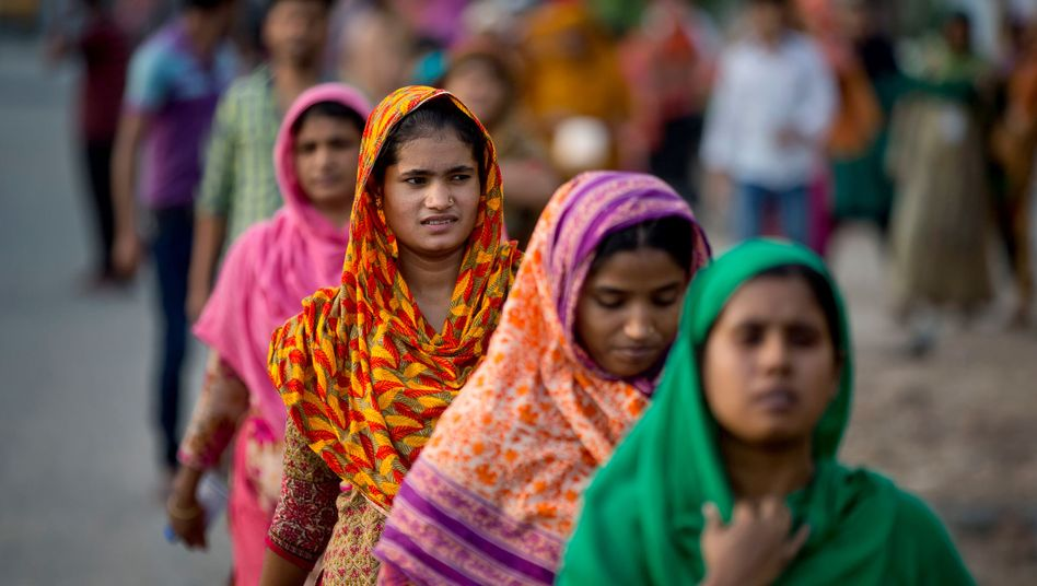 Arbeiterinnen in Bangladesch