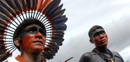 """Ureinwohner Brasiliens in Belém: """"Magischer Moment"""""""