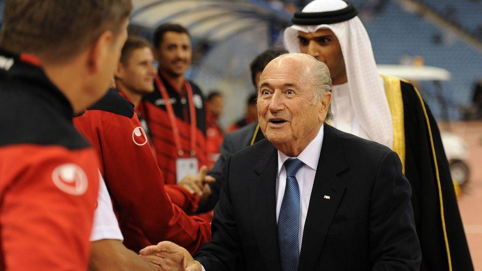 Joseph Blatter: Strafanzeige gegen Einzeltäter