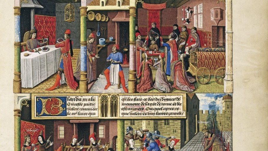Darstellung mittelalterlicher Wohnkultur(*): »Die Hygienestandards waren höher als in den Jahrhunderten danach«