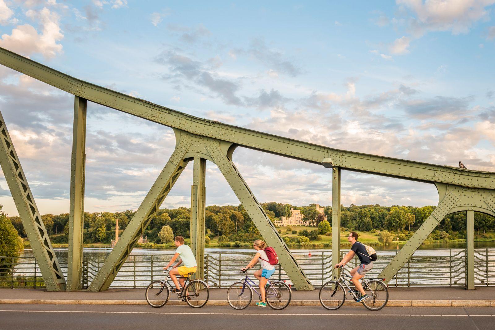 Fahrradtour zur Glienicker Bruecke