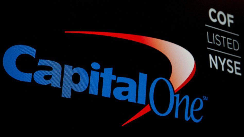 Capital One: Auf das Unternehmen kommen Kosten im dreistelligen Millionenbereich zu