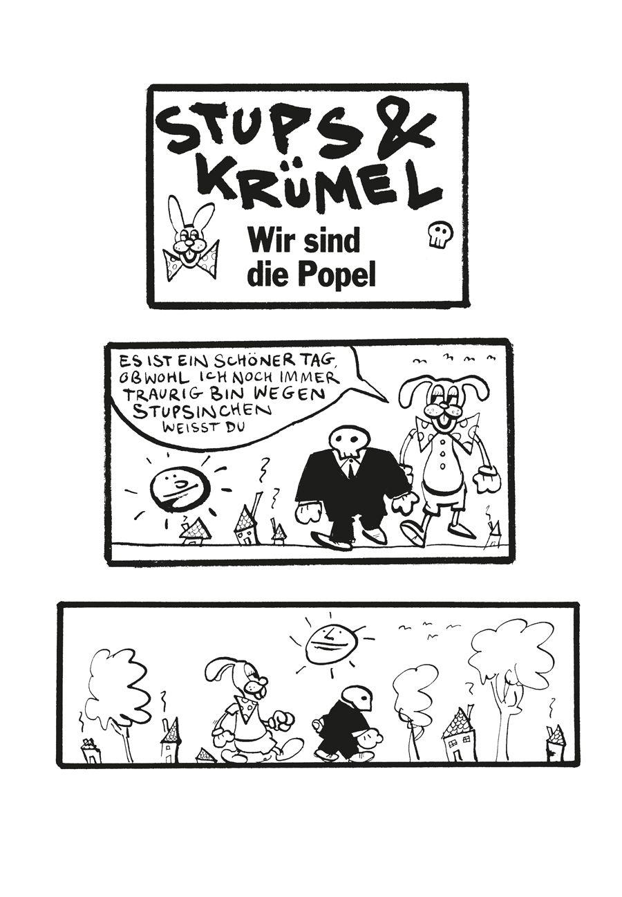 EINMALIGE VERWENDUNG Kultur/ Comics/ Fil, Stups & Krümel
