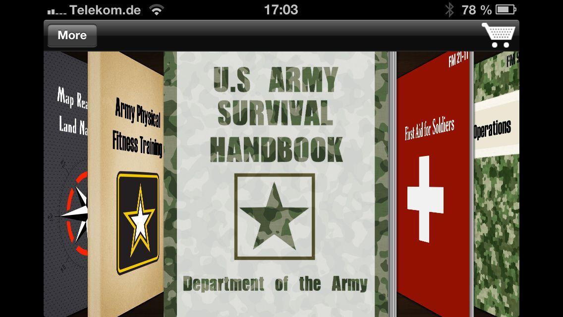 NUR ALS ZITAT Screenshot iPhone-App iSurvival