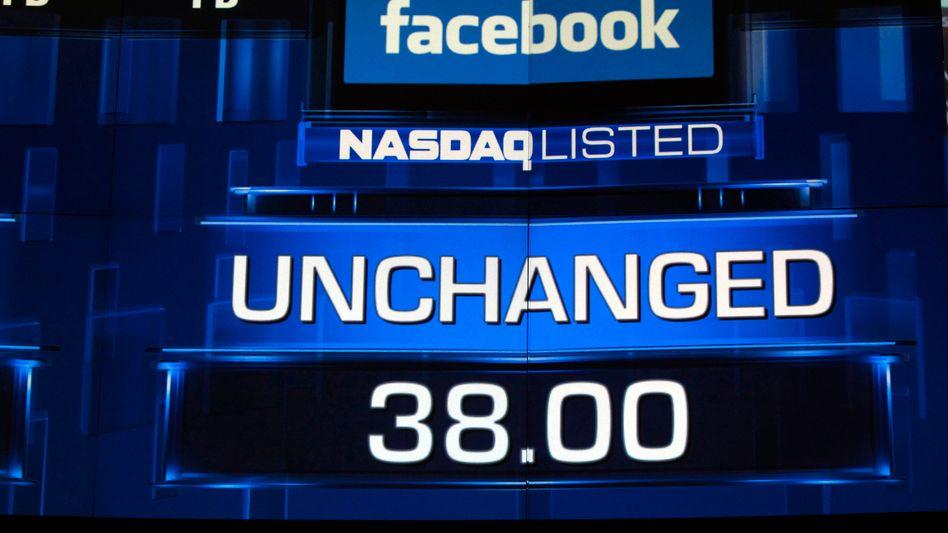 Nasdaq-Monitor kurz vor Börsenschluss am 18. Mai: Facebook-Aktie am Ende leicht im Plus