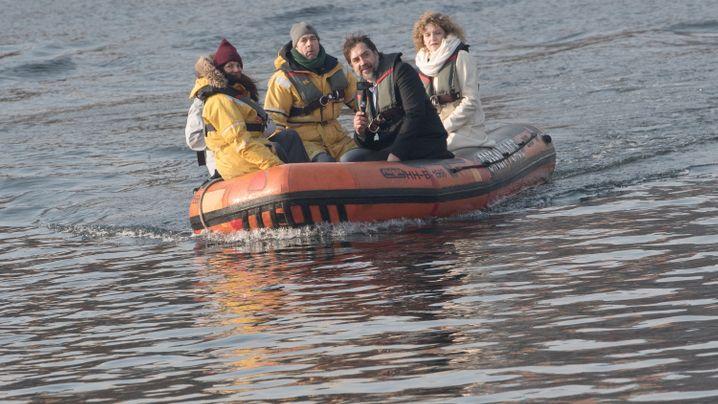 Antarktis: Mit Käpt'n Bardem übers Weddellmeer
