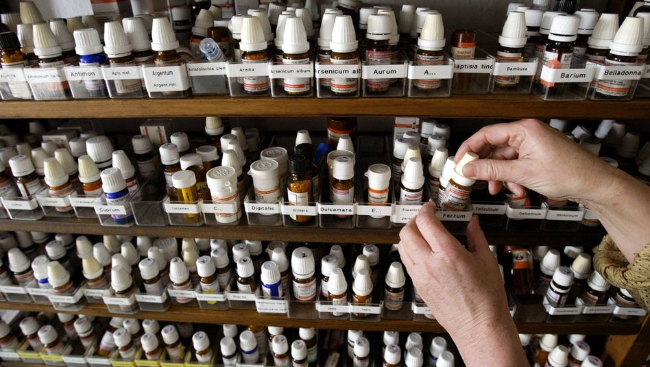 Homöopathische Präparate in der Praxis einer Heilpraktikerin