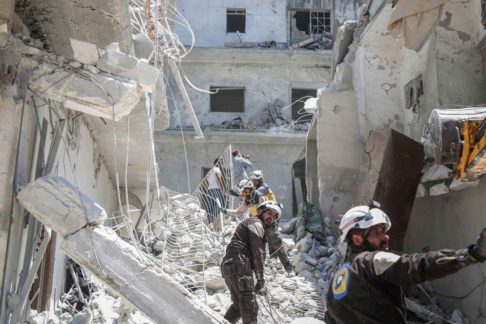 Luftangriff in Syrien