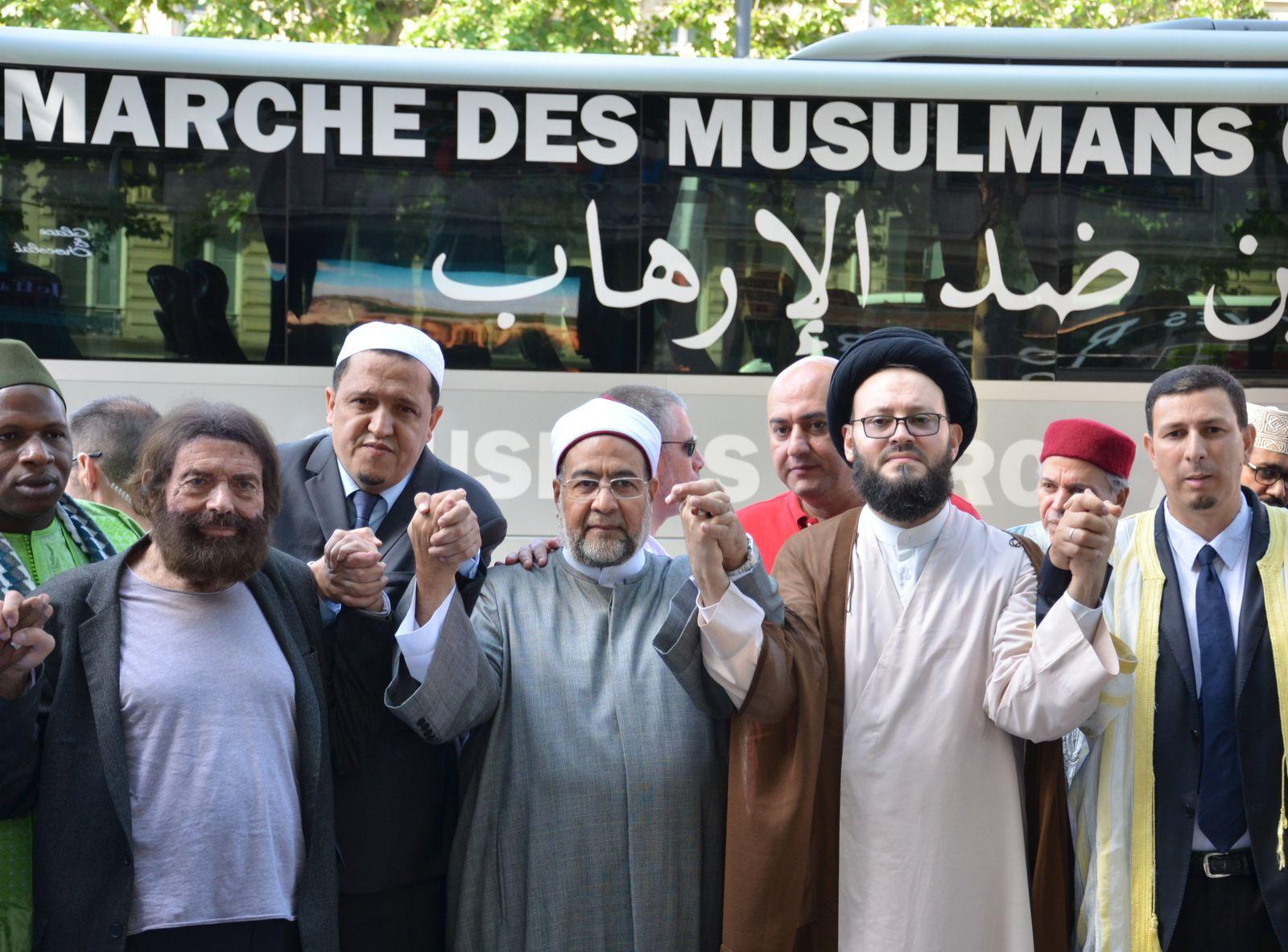 Marsch der Muslime