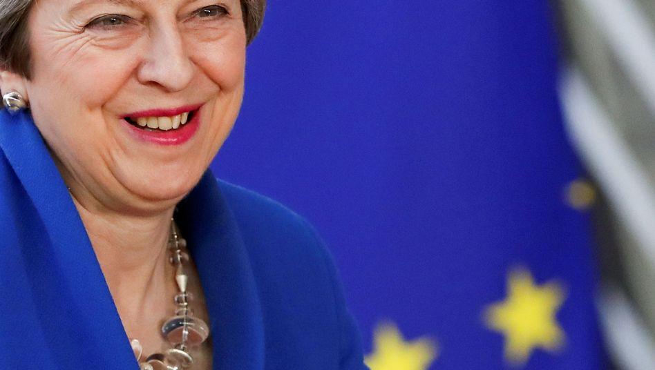 Großbritanniens Premierministerin Theresa May