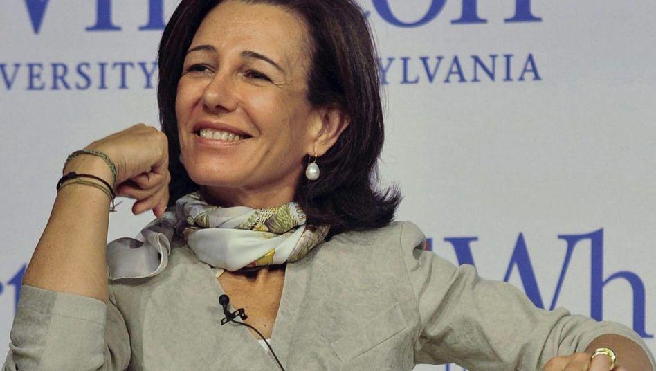 Ana Patricia Botín: Einstimmig gewählt