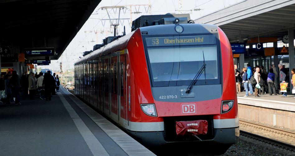 S-Bahn in Oberhausen: Keine Toiletten an Bord