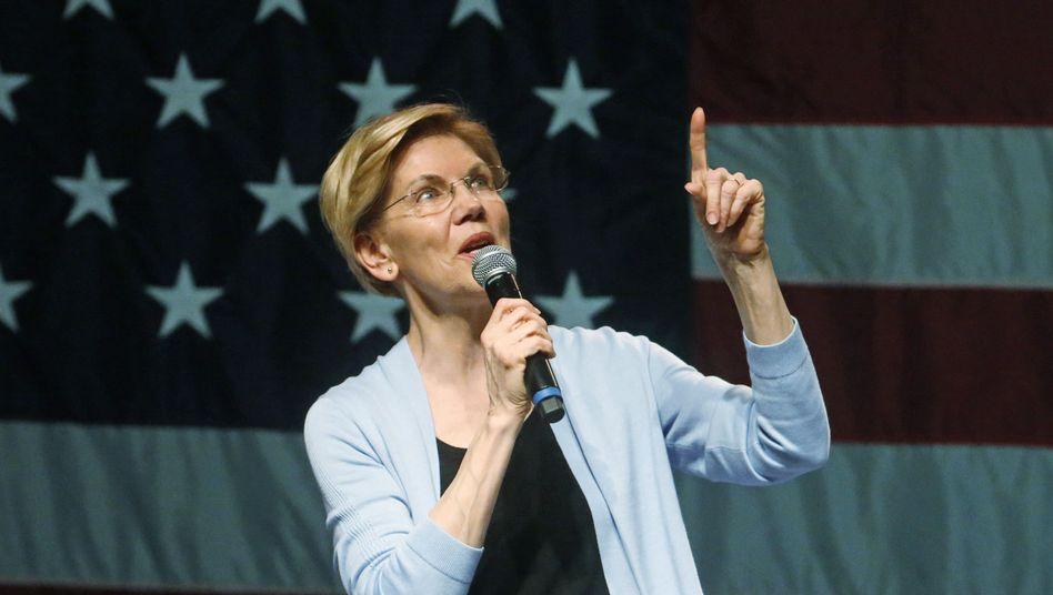 Senatorin Elizabeth Warren