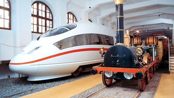 175 Jahre Eisenbahn: Vom Adler bis zum ICE