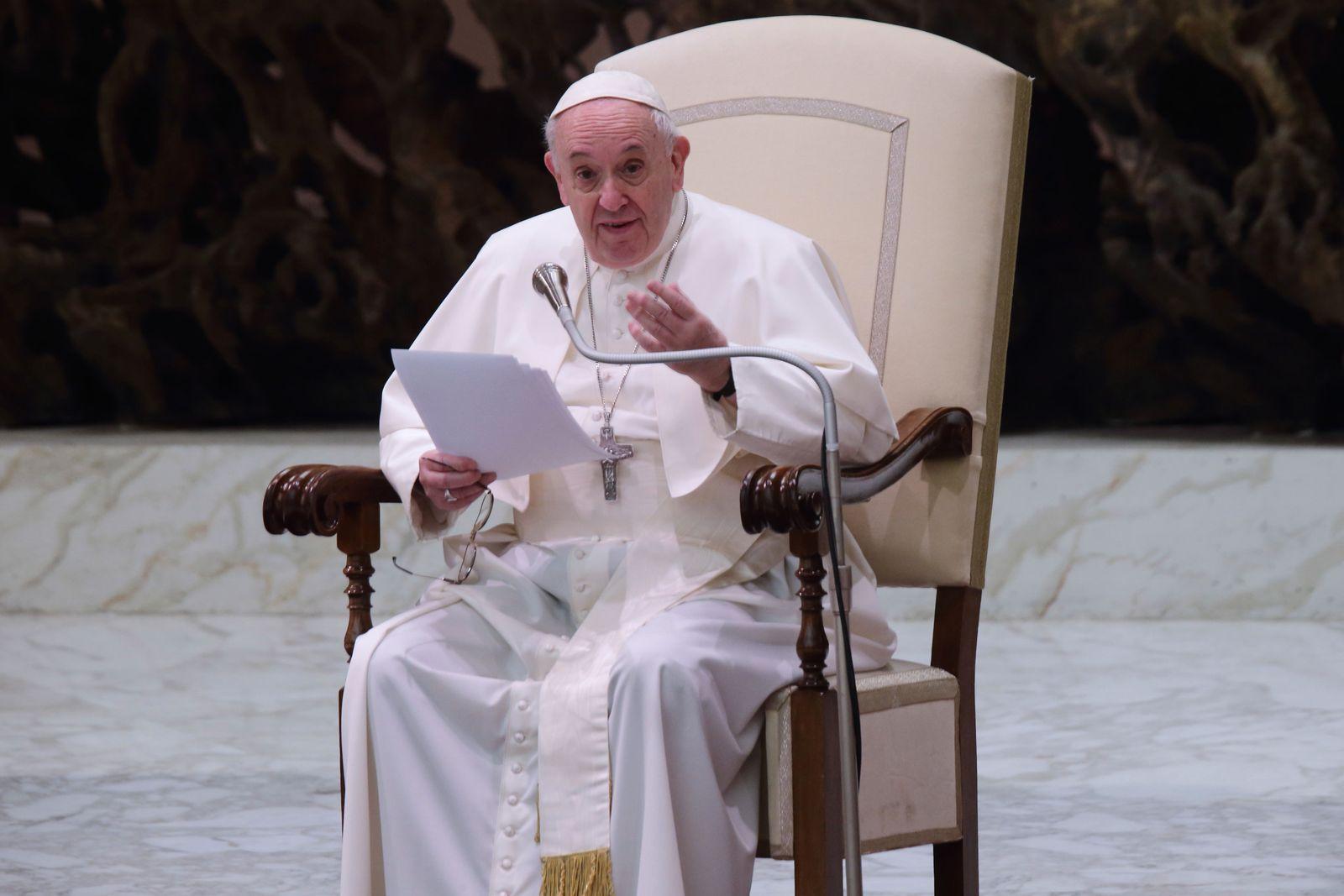 Generalaudienz im Vatikan