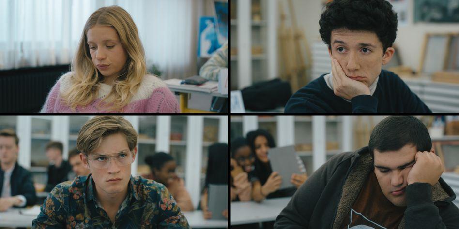 Lisa (Lena Klenke), Moritz (Maximilian Mundt), Dan (Damian Hardung) und Lenny (Danilo Kamperidis) stehen vor den Vorabiprüfungen, haben aber anderes im Kopf