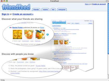 Friendfeed: Facebook kauft Aggregator