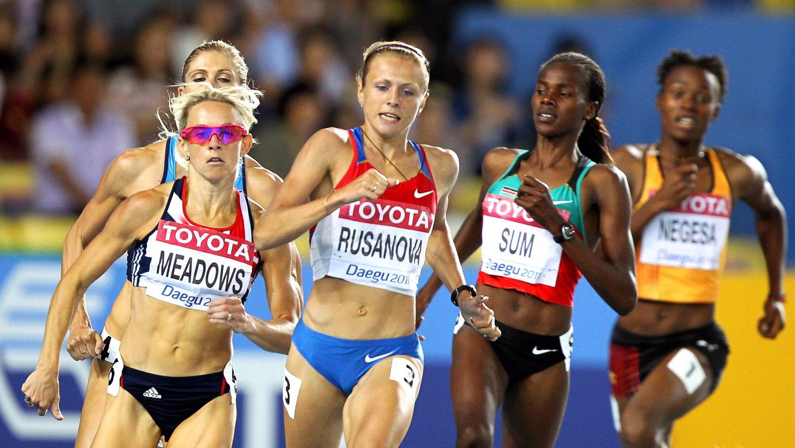 Doping Russland/ Julia Stepanowa/ Yulia Stepanova