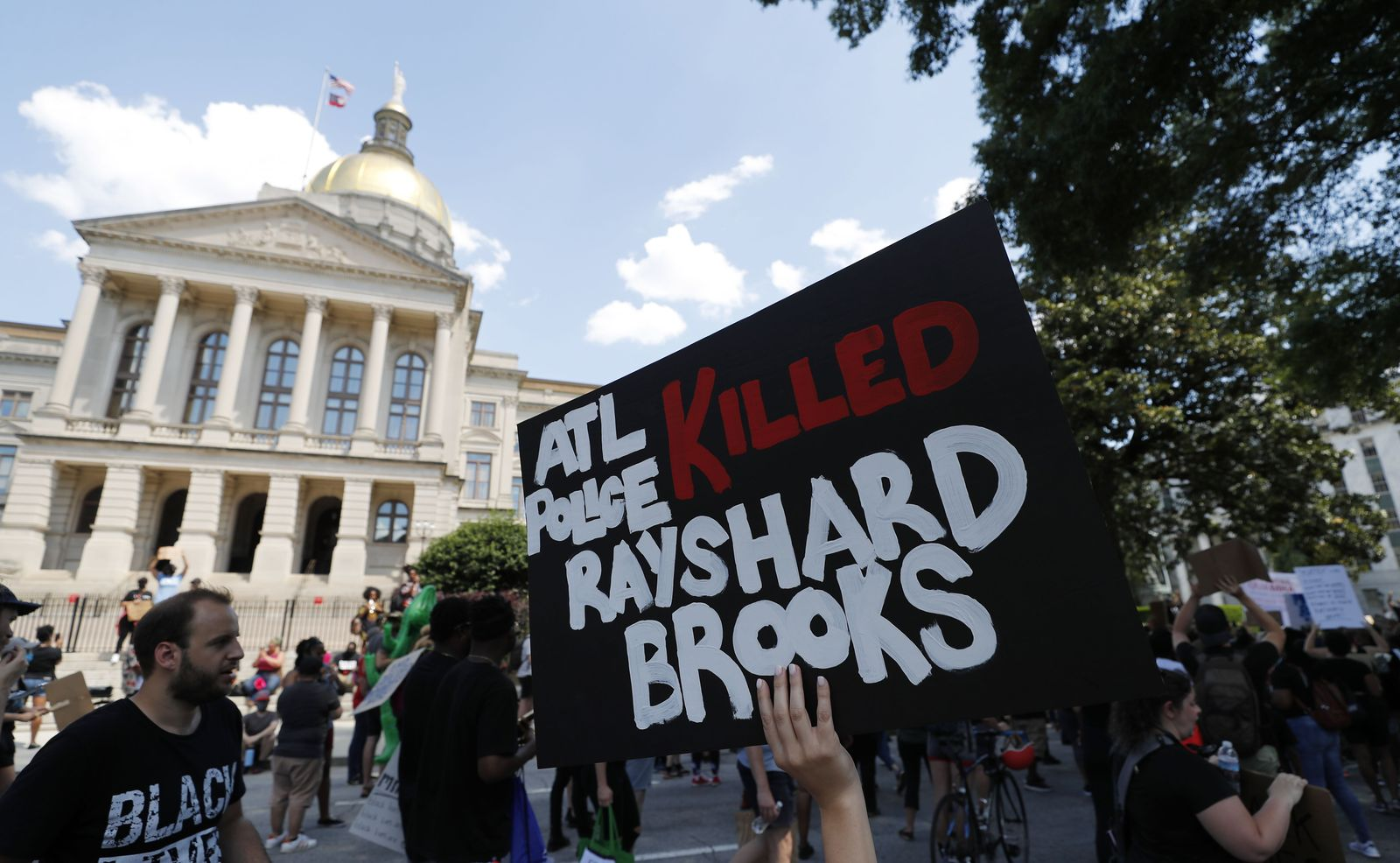 Black man shot and killed during incident with the Atlanta Police Department, USA - 13 Jun 2020