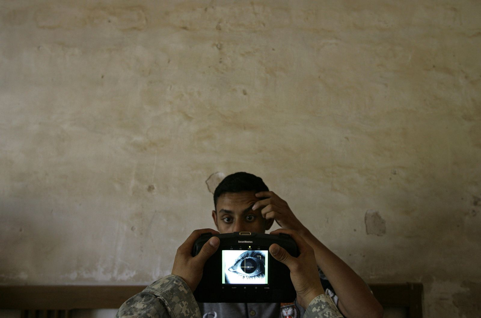 Biometrie-Kamera US-Militär